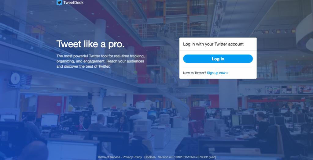 TweetDeckの公式サイト