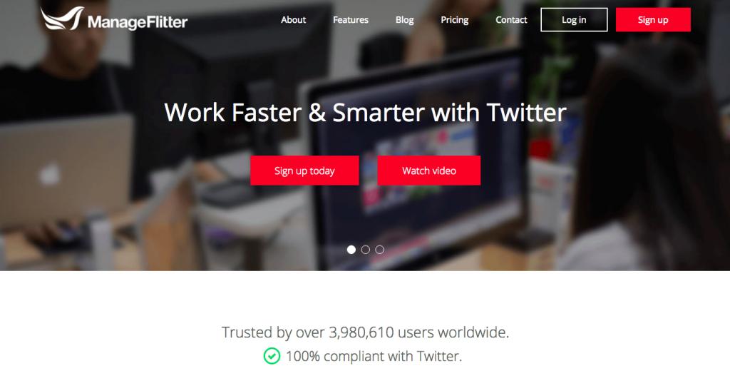 ManageFlitter公式サイト