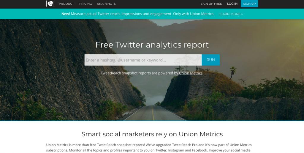 TweetReach公式サイト