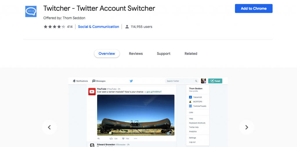 Twitcher公式サイト