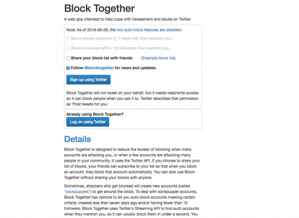 Block Togetherの公式サイト