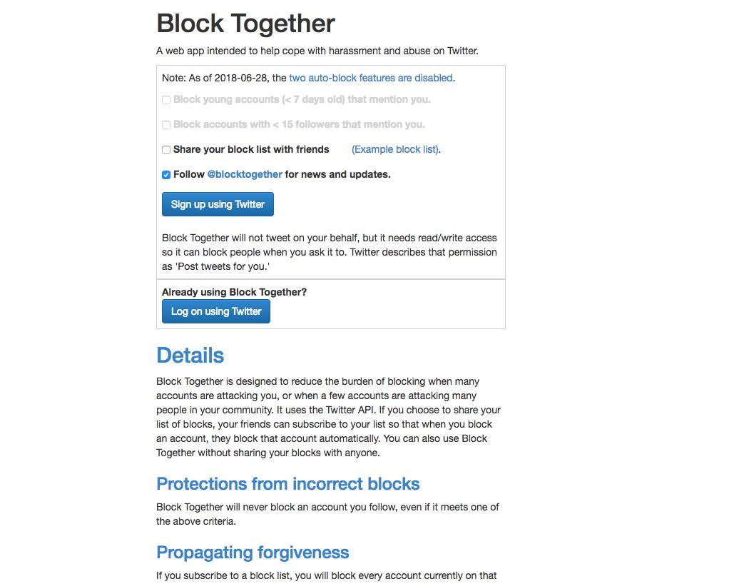 Block Togetherの公式サイトの画像