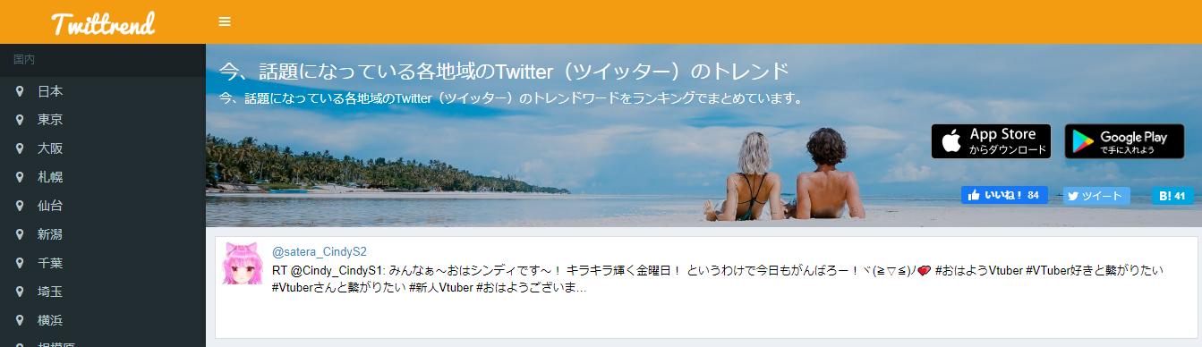 Twittrend