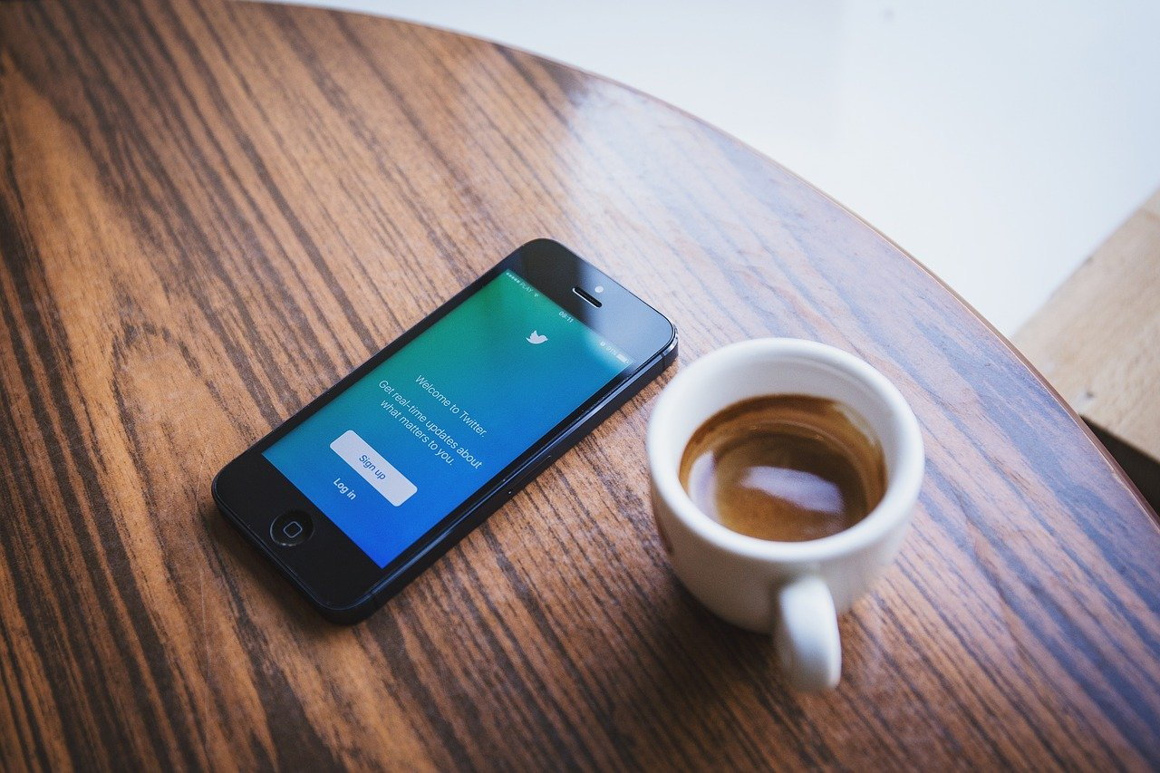 Twitterの画面