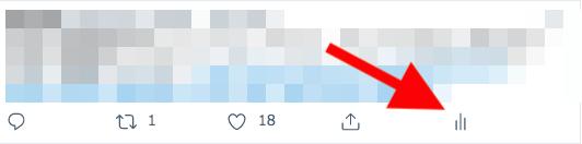 Twitterアナリティクスの画像